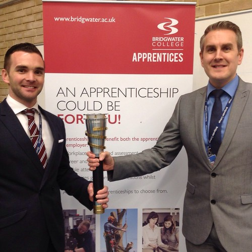 Head of Apprenticeship Development, Chris Young and Director of Business Development and Marketing, Matt Tudor.