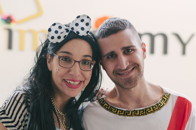 Scenes from the imonomy Purim party
