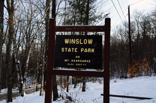 Winslow State Park Sign