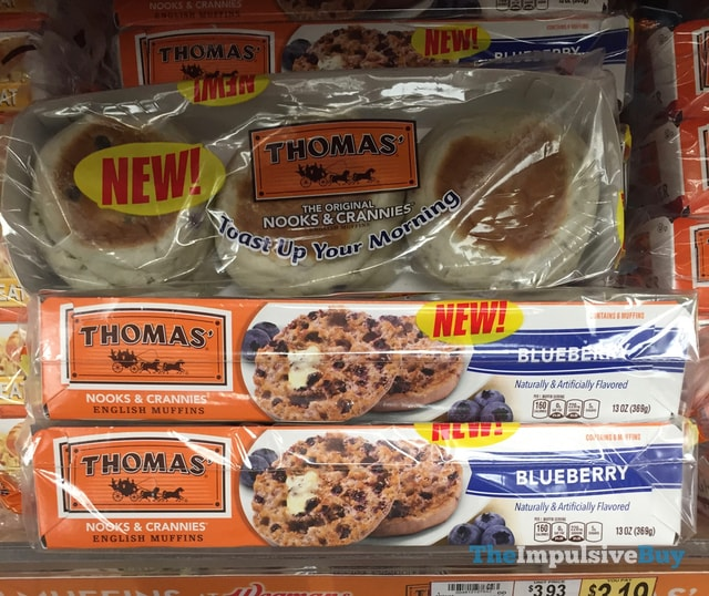 Thomas' Blueberry English Muffins