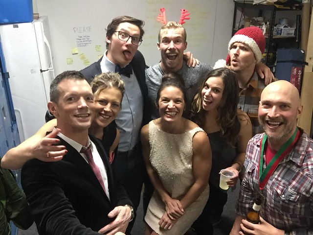 2015 Holiday Party Selfie Stick