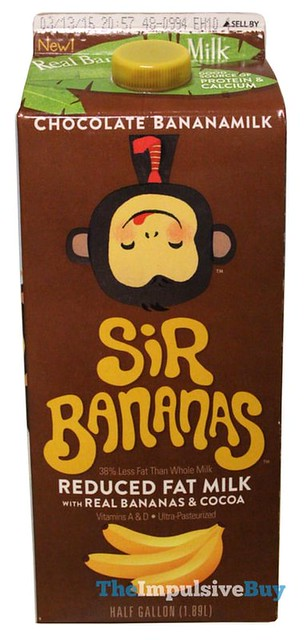 Sir Bananas Chocolate Bananamilk