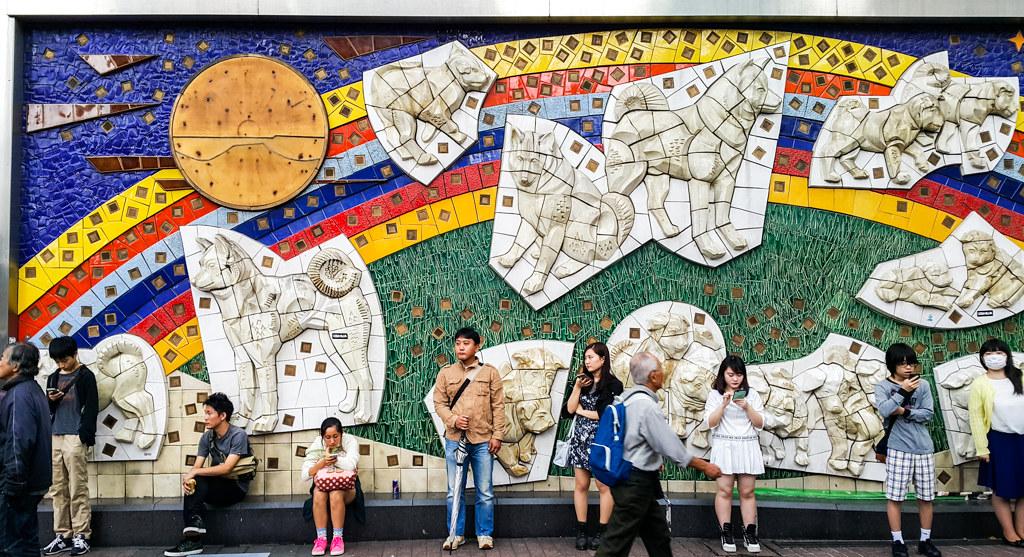 tokyo japan | hachiko exit shibuya station
