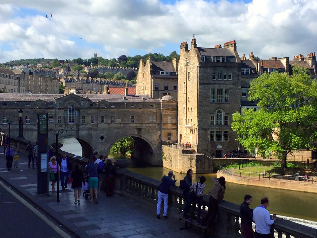 bath en un día: Pultney Bridge de Bath Bath en un día Bath en un día, el SPA de Roma en Inglaterra 25057276292 c52e23f381 b