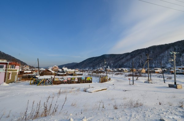Listvyanka Village on Lake Baikal - Irkutsk, Russia