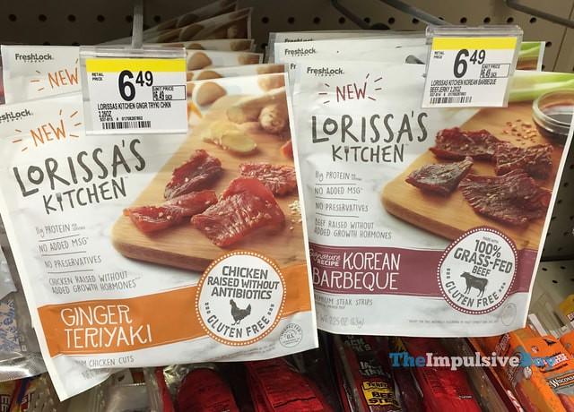 Lorissa's Kitchen Ginger Teriyaki Chicken Cuts and Korean Barbeque Steak Strips