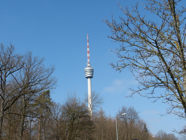 The iconic TV-Tower Stuttgart