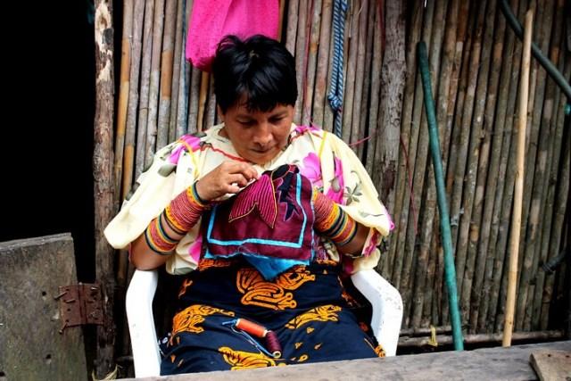 Indios O Pueblo Guna De San Blas Kuna Yala