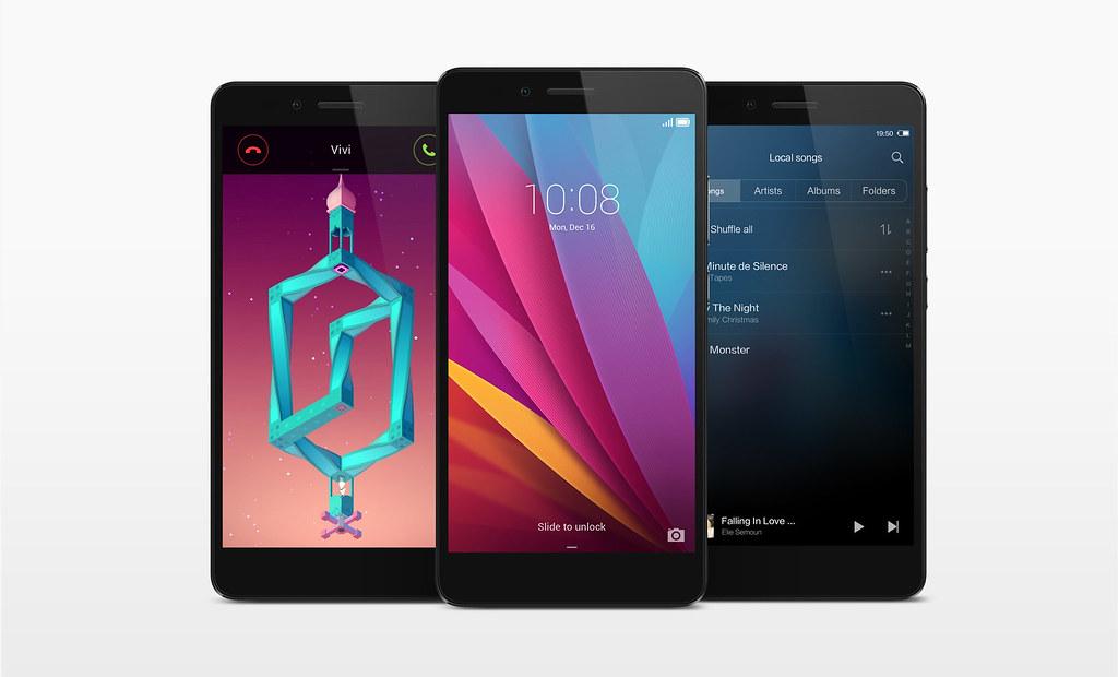 Jammer dat de Honor 5X niet komt met de meest recente versie van Android en de EMUI schil.