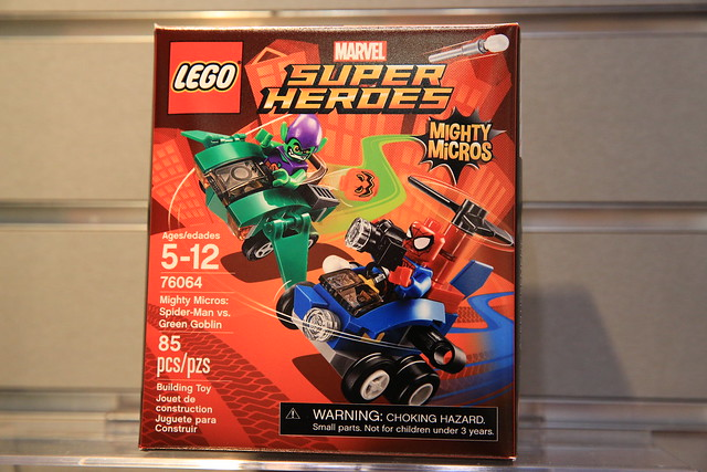 LEGO Marvel 76064 Spider-Man vs. Green Goblin 1