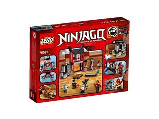 LEGO Ninjago 70591 Kryptarium Prison Breakout back