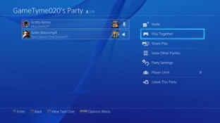 PS4 System Software 3.50 - Play Together