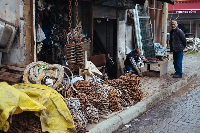 Istanbul: hardware in Beyoglu