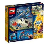 LEGO Nexo Knights Aaron Fox's Aero-Striker V2 (70320) back