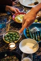 Middle Eastern feast