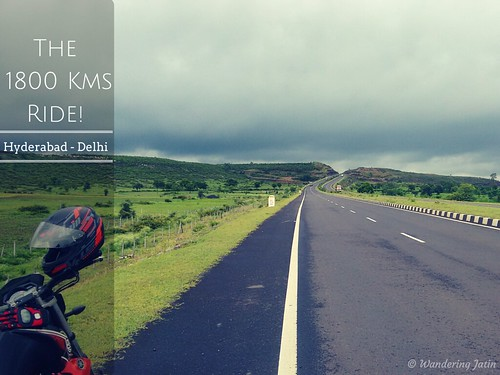 Ride from Hyderabad to Gurgaon