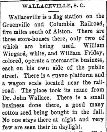 Wallaceville Description