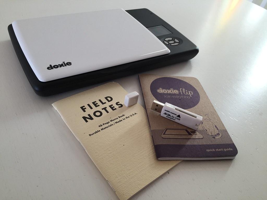 Doxie Flip mobile scanner