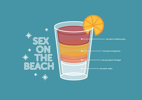 Receta del Cocktail Sex on the Beach