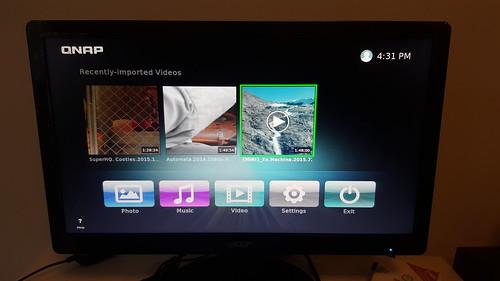 HD Player ของ QNAP ดูจะครบเครื่องสุด ใช้งานง่ายสุดแล้ว