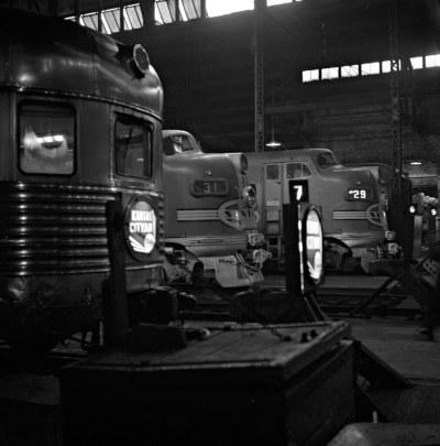 ATSF, Chicago, Illinois, 1952