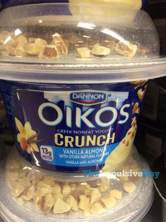 Dannon Oikos Crunch Vanilla Almond