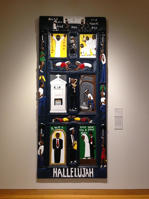 Herbert Singleton, Hallelujah Door, High Museum, Atlanta GA