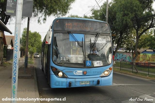 Transantiago - Alsacia - Marcopolo Gran Viale / Volvo (ZN4105) (113)