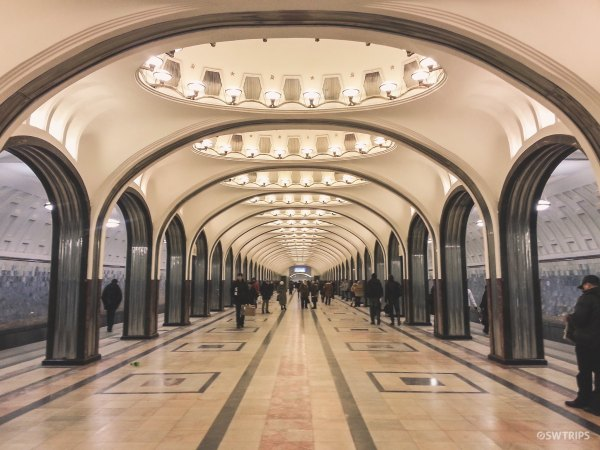 Subway, Moscow Style