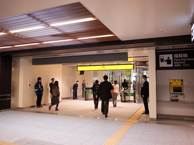 仙台駅東口改札口