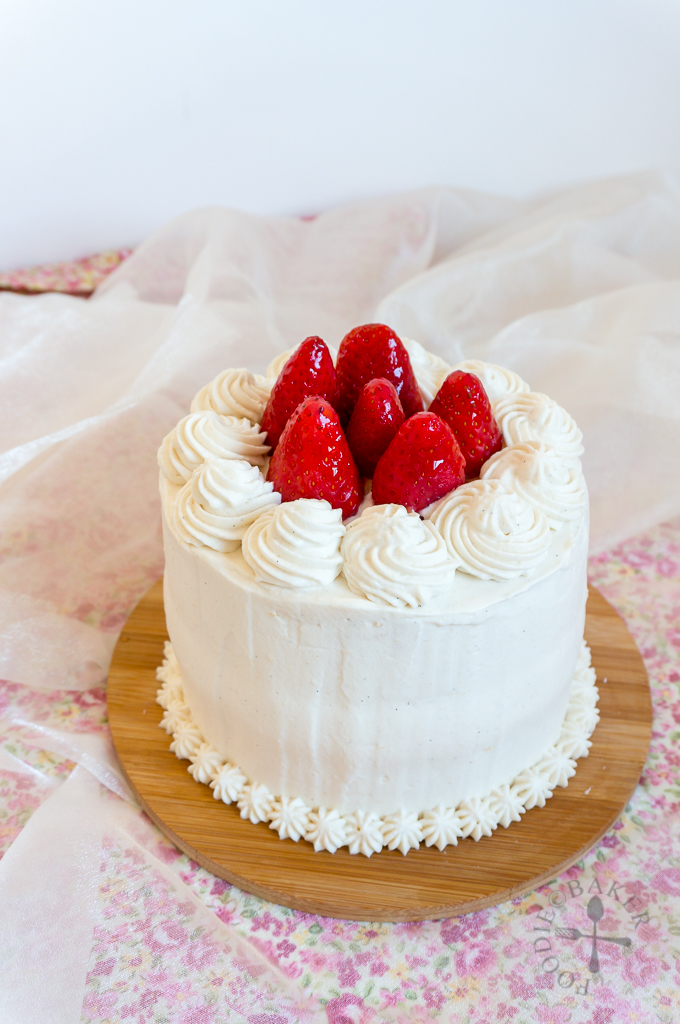 Strawberry Sponge Cake Recipe  Whites G Butter