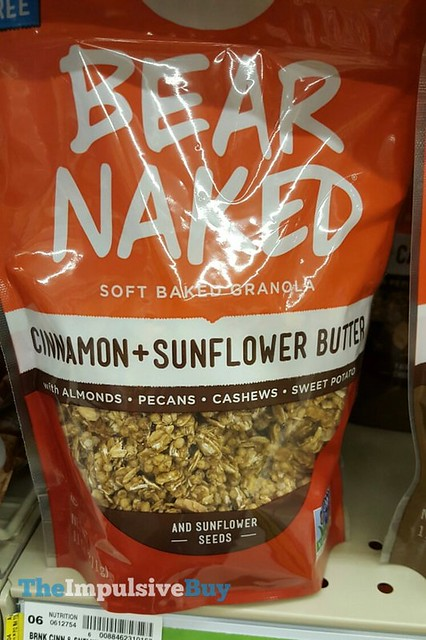 Bear Naked Cinnamon + Sunflower Butter Soft Baked Granola