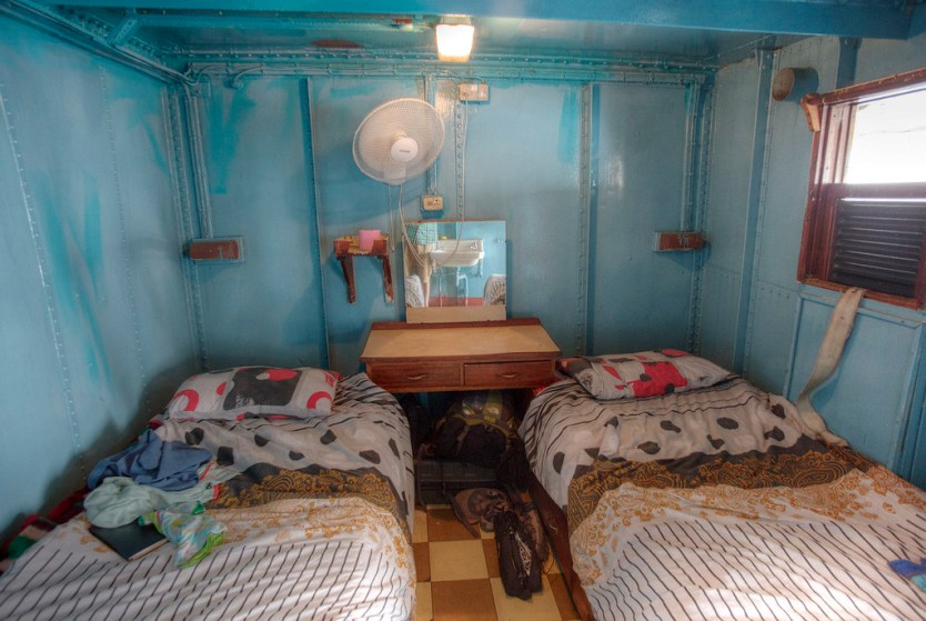 Our cabin on the Ilala.