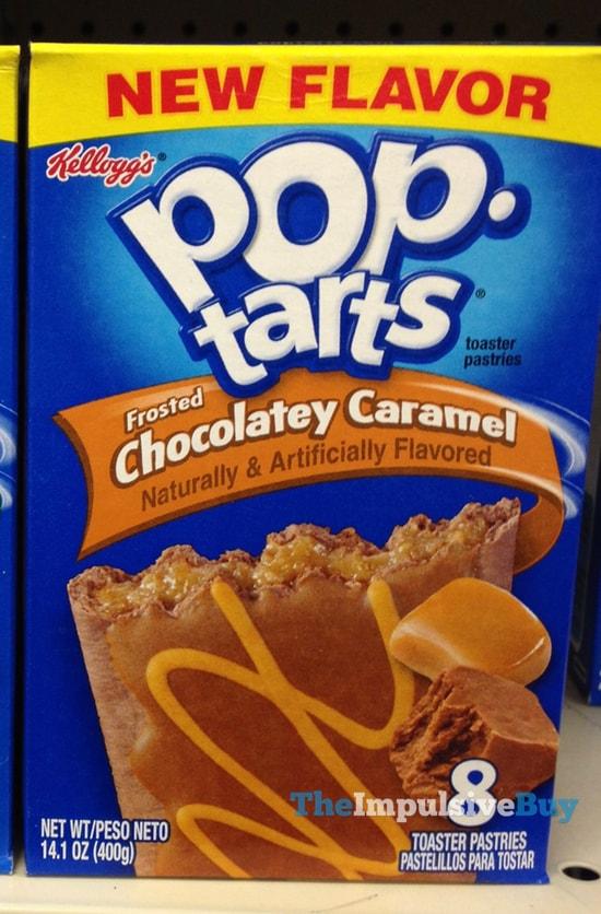 Kellogg's Frosted Chocolatey Caramel Pop-Tarts
