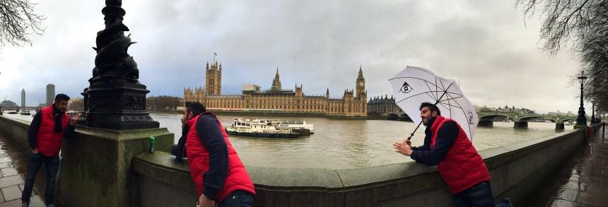 Big Ben y Parlamento en Londres