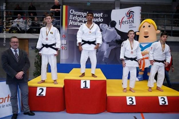 Médaille de bronze championnat de Belgique: Hovanisian Arthur Hv