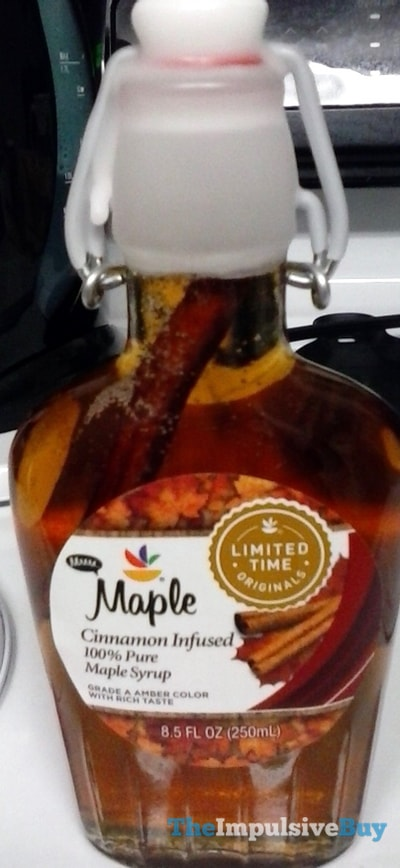 Giant Limited Time Originals Maple Cinnamon Infused 100% Pure Maple Syrup