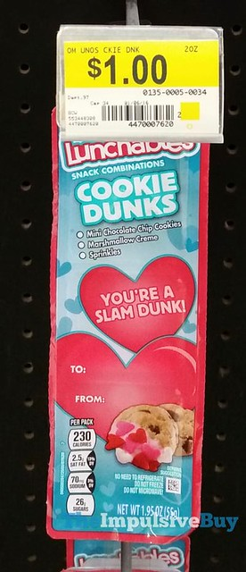 Lunchables You're a Slam Dunk Cookie Dunks