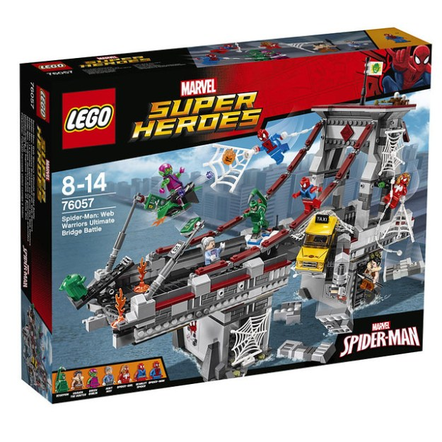 LEGO Spider-Man: 76057 Web Warriors Ultimate Bridge Battle