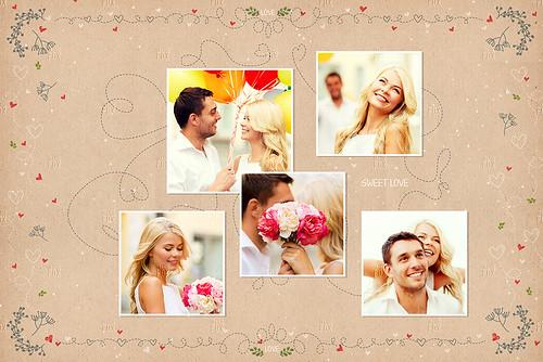 20 Valentine Photo Templates - Vol.01