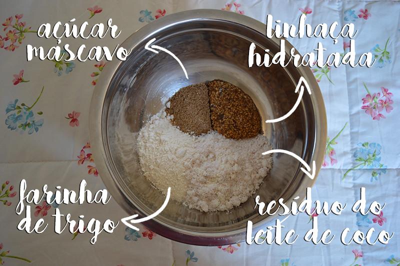 Cookies com Redísuo do Leite de Coco