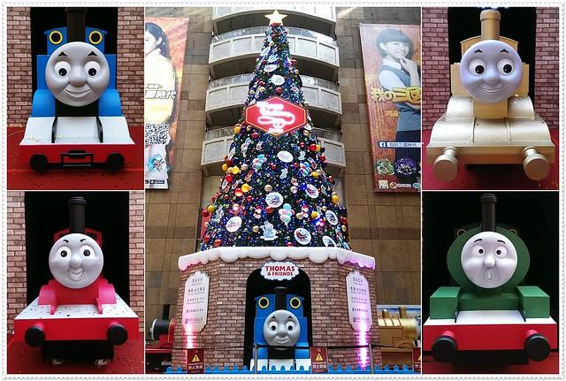 湯瑪士小火車與聖誕樹(Thomas friends and Xmas tree)