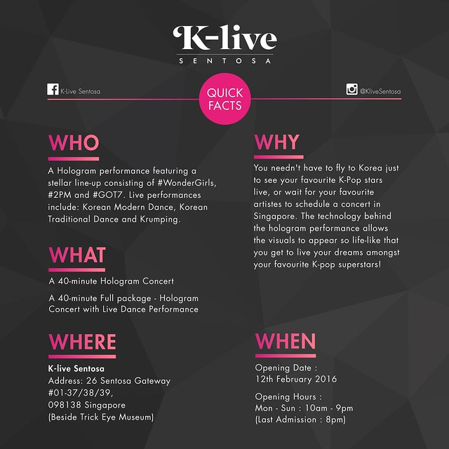 WHAT IS K-LIVE sgXCLUSIVE