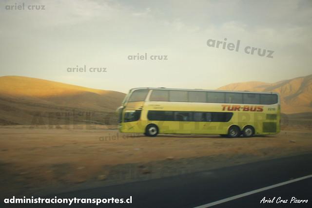 Tur Bus - Desierto de Atacama - Marcopolo Paradiso 1800 DD / Mercedes Benz (CFVZ85) (2210)