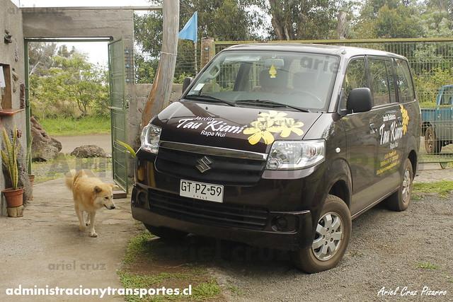 Suzuki APV (GTPZ59) - Jardín Botánico Tau Kiani (Isla de Pascua)