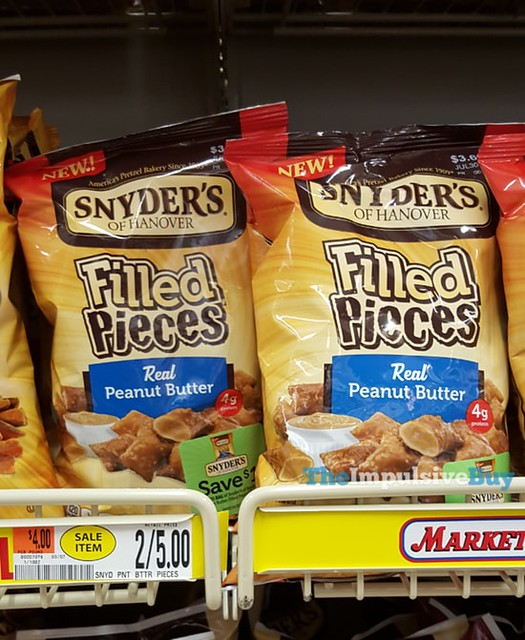 Snyder's of Hanover Real Peanut Butter Filled Pieces