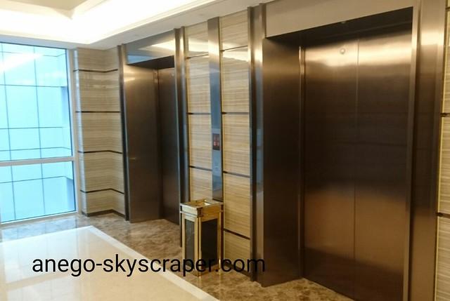エアポートホテルのエレベーターホール