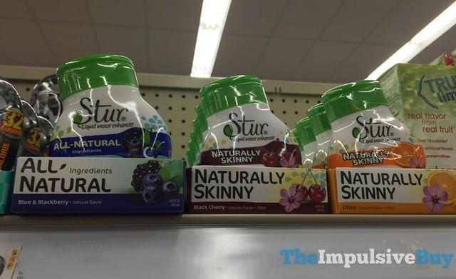 Stur Blue & Blackberry, Black Cherry, and Citrus Liquid Water Enchancers