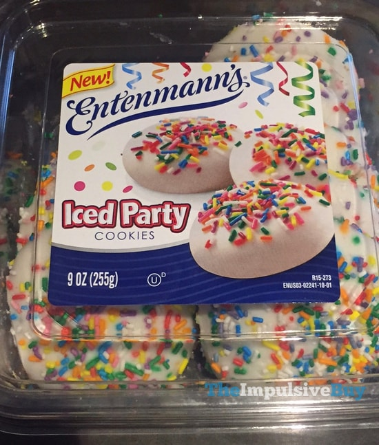Entenmann's Iced Party Cookies