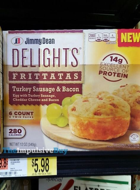 Jimmy Dean Delights Turkey Sausage & Bacon Frittatas